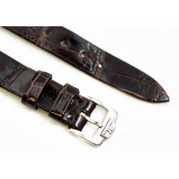 Bracelet croco Jaeger Lecoultre avec boucle acier 13mm