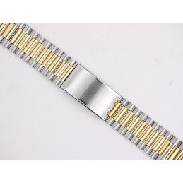 NSA golden / steel strap 22 mm