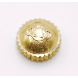ENICAR gold plated waterproof crown 5,5mm