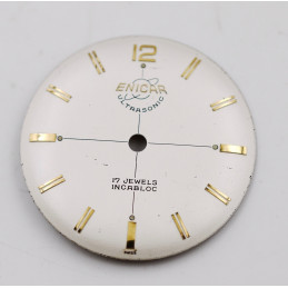 Enicar ultrasonic automatic dial 27,5mm