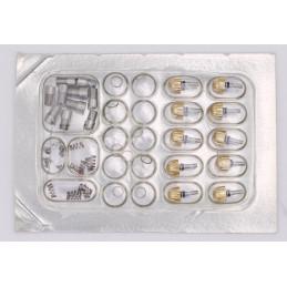 Poussoir Breitling Chronomat plaqué or neuf, emballé