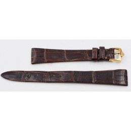 Bracelet Jaeger-Lecoultre croco marron 13mm