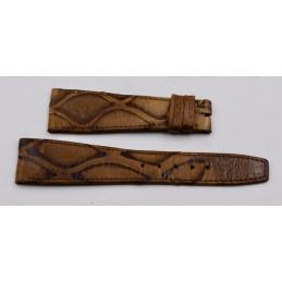 Bracelet Jaeger-Lecoultre croco marron 12mm