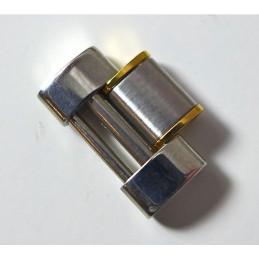 Maillon acier CARTIER must 21 or/acier - 16 mm