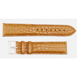 Genuine crocodile strap 20 mm