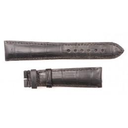 Bracelet crocodile véritable 20 mm