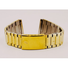 Breitling gold plated strap 22mm