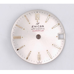 Enicar ultrasonic Superflat  dial 24,97mm