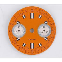 Cadran de chrono SUB 200
