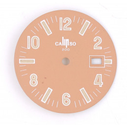 Lip beige old dial - diameter 26,58 mm