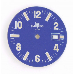 Lip blue old dial - diameter 26,58 mm