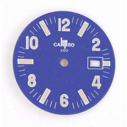 Lip blue old dial - diameter 26,58 mm
