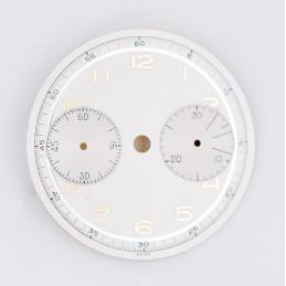 Cadran de chronographe Landeron 48, 31mm