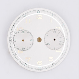 Landeron 48 chrono dial, diameter 31 mm