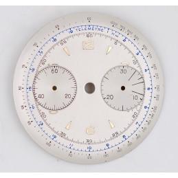 Cadran de chronographe Landeron 48, 34mm