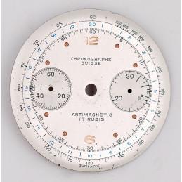 Cadran de chronographe Landeron 48,  32mm