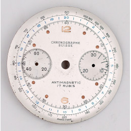 Landeron 48 chrono dial, diameter 32 mm