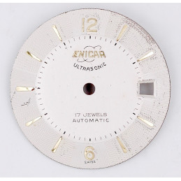 Enicar automatic dial 26,90mm