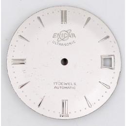Cadran Enicar ultrasonic automatic 29,5mm