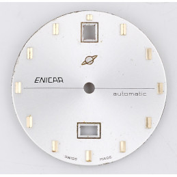 Enicar automatic dial 28mm