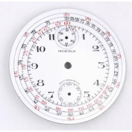 Cadran de chrono montre gousset