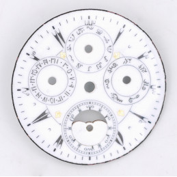 Pocket Watch with complications dial 36,15 mm