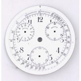 Cadran de montre gousset à complications 45 mm