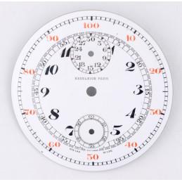 Cadran de chrono montre gousset 45,38mm