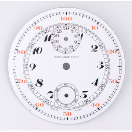 Pocket Watch chrono dial 45,38 mm