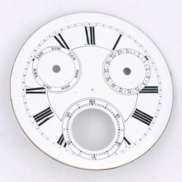 Pocket Watch chrono dial 43 mm