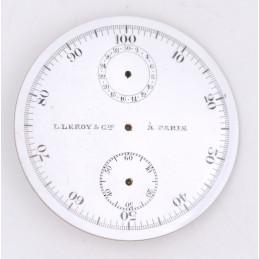 Cadran de chrono montre gousset 44mm