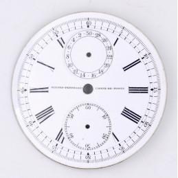 Cadran de chrono montre gousset GIRARD-PERREGAUX 44mm