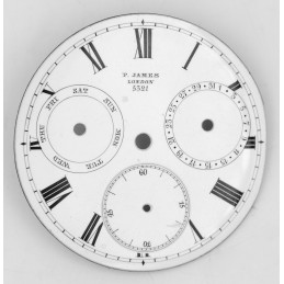 Pocket Watch with complications dial 41 mm