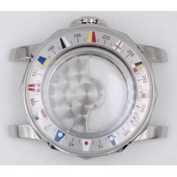 Boitier de chronographe CORUM tout acier 43mm