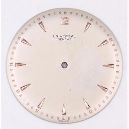 Cadran Universal Genève   - diamètre 34,50mm