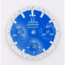 Omega Speedmaster Automatic dial with hands