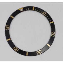 insert Lunette ROLEX Submariner or et or/acier