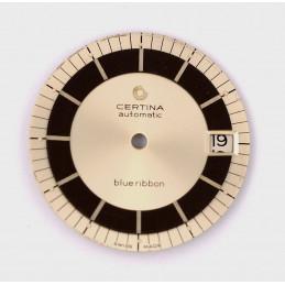 CERTINA Cadran Automatic Blue Ribbon et disque de date