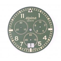 cadran montre alpina chronographe