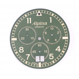 dial chronographe whatch alpina