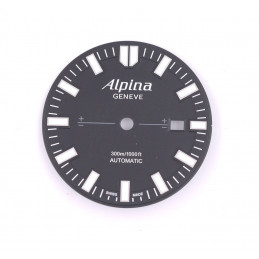 cadran montre alpina automatique plongee