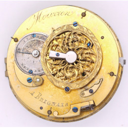 Small pocket watch movement MOURRON brignals
