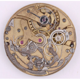 Pocket watch movement chronograph