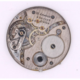 Pocket watch movement 38 mm movado