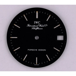 IWC Shaffhausen Porsche Design 26.17mm dial