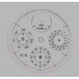 IWC dial phase de lune triple date 29.7 mm