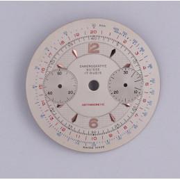 Cadran de chronographe Landeron 48  32mm