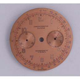 Cadran de chronographe Landeron 48  34.8mm