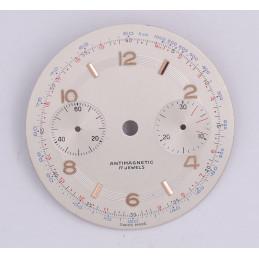 Landeron 48 chrono dial, diameter 34 mm