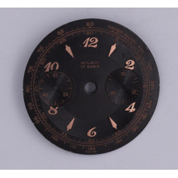 Landeron 48 chrono dial, diameter 31.7mm